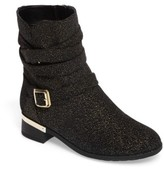 Vince Camuto Girl's Webb Buckle Strap Bootie