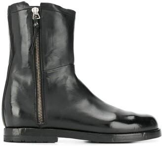Alberto Fasciani Side Zip Ankle Boots