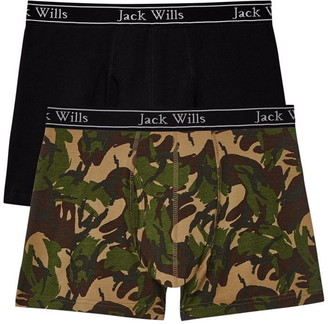 Jack Wills Chetwood Camo Print Boxer Set