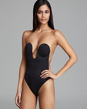 Fashion Forms U Plunge Backless Strapless Bodysuit