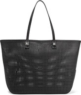 Rebecca Minkoff Studded perforated leather tote