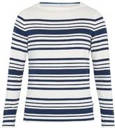 Orlebar Brown Byrne long-sleeved striped cotton T-shirt