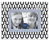 Bed Bath & Beyond Patterned Wood Picture Frame in Blue