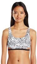 Volcom Women's Leaf Me Alone Crop Bikini Top
