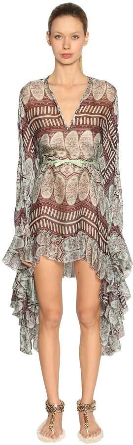 Giambattista Valli Printed Silk Georgette Dress