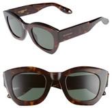 Givenchy Women's 48Mm Cat Eye Sunglasses - Beige