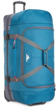 """High Sierra Closeout! Decatur 34"""" Drop-Bottom Wheeled Duffle, Created for Macy's"""