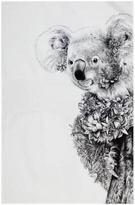 Maxwell & Williams Marini Ferlazzo Koala on Gum Tea Towel 50 x 70cm