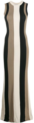 Ami Vertical Striped Dress