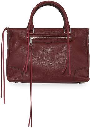 Rebecca Minkoff Regan Large Leather Fringe Satchel Tote Bag