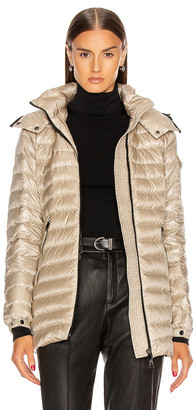 Moncler Menthe Giubbotto Jacket in Champagne | FWRD