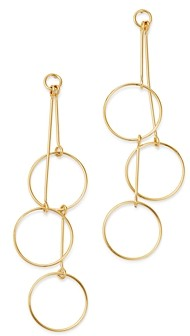 Bloomingdale's Cascading Circle Drop Earrings in 14K Yellow Gold - 100% Exclusive