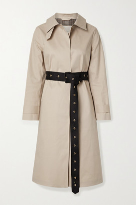 MACKINTOSH Roslin Belted Bonded Cotton Trench Coat - Beige