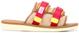Suicoke Canvas Strap Slides