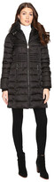 Betsey Johnson Quilted Zip Puffer