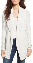 Velvet by Graham & Spencer Women's Cozy Ribbed Open Cardigan