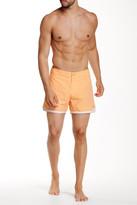 """Parke & Ronen 4"""" Mykonos Solid Swim Short"""