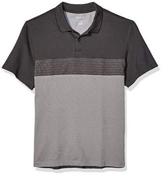Van Heusen Men's Flex Short Sleeve Stretch Colorblock Polo Shirt