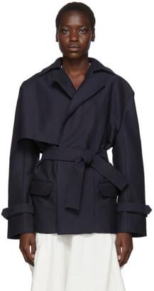 Jacquemus Navy Le Manteau Carini Jacket