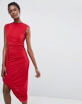 Wal G Asymmetric Dress