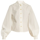 Lemaire Balloon-sleeve cotton-poplin shirt
