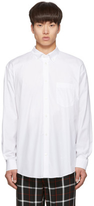 Balenciaga White Normal Fit Shirt