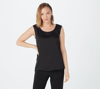 Linea by Louis Dell'Olio Polyester Satin Tank