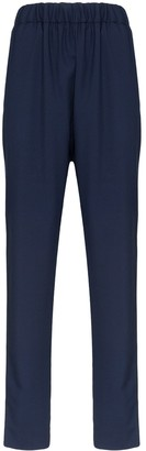 Marni Elasticated-Waist Slim Trousers