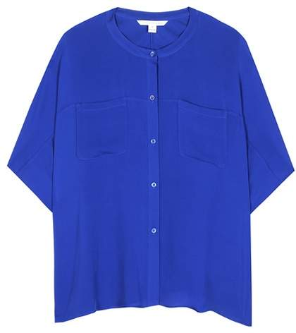 Diane von Furstenberg Karrly silk tunic blouse
