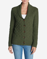 Eddie Bauer Women's Heritage Cable Cardigan