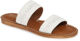 Bella Vita Two-Strap Slide Sandal