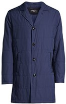 Kiton Packable Quilted Raincoat