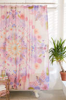 Urban Outfitters Pressed Floral Shower Curtain