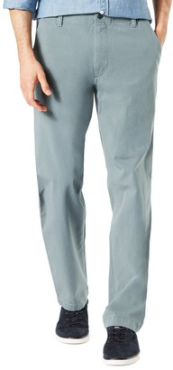 Dockers Men's Smart 360 FLEX Straight-Fit Downtime Khaki Pants