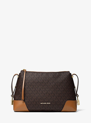 Michael Kors Crosby Medium Logo Messenger