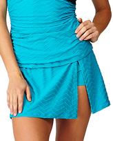 Leilani Teal Leeward Islands Bikini Skirt