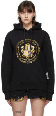 Versace Jeans Couture Black Crest Hoodie