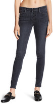 Black Orchid Candace Button Front Skinny Jeans