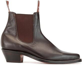 R.M. Williams Millicent point-toe chelsea boots