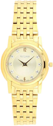 Wittnauer Women's Stainless Steel Diamond Watch