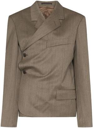 Martine Rose wrap-around blazer