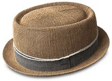 Bailey Of Hollywood Runkle Telescope Crown Crochet Straw Hat