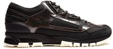 Lanvin Contrast-panelled low-top trainers