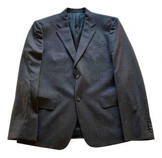 Prada Grey Wool Suits