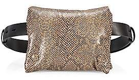 Nanushka Women's Tao Vegan Leather Puffer Belt Bag