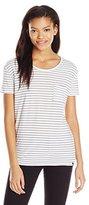 Volcom Junior's Lived In Stripe T-Shirt