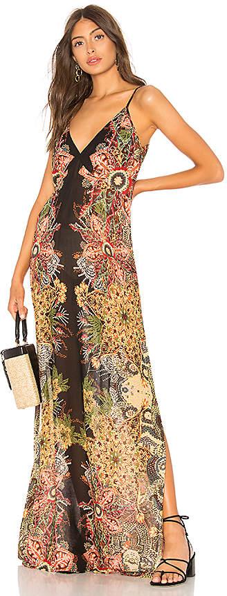 Free People Wildflower Printed Slip Dress