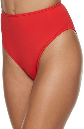 WeWoreWhat Women's Emily High-Waist Bikini Bottoms