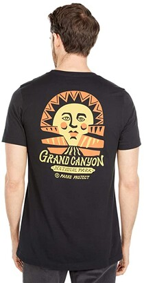 Parks Project Grand Canyon Mother Sun Tee (Vintage Black) Clothing