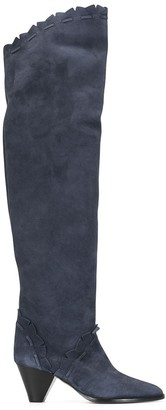 Isabel Marant Luis thigh-high 60mm boots